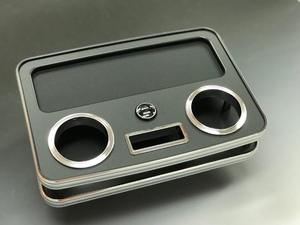 BUSSELL USB急速充電ポート付き セカンド(コンソール後側)センターコンソールテーブル H200系ハイエース(標準ボディ・ワイドボディ共通)